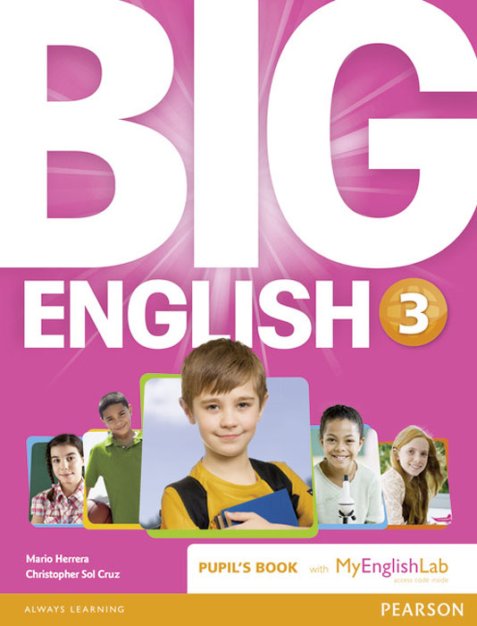 Big English: Level 3: Pupil's Book with MyEnglishLab Access Code Pack