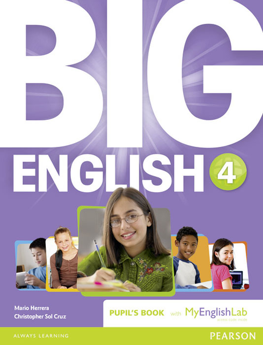 Big English: Level 4: Pupil's Book with MyEnglishLab Access Code Pack excellent 1 pupils book