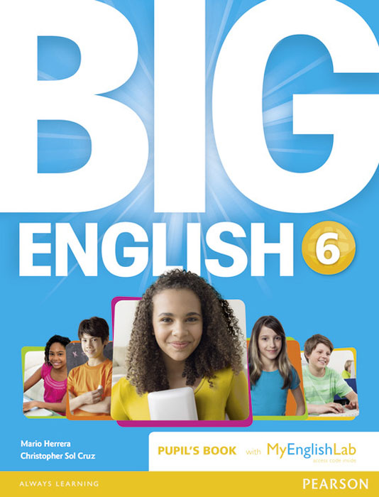 Big English: Level 6: Pupil's Book with MyEnglishLab Access Code Pack g b viotti 3 duos for 2 cellos op 30