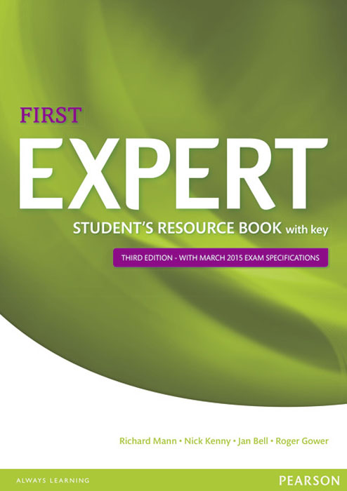 Expert First: Student's Resource Book with Key expert ielts 7 5 students resource book with key