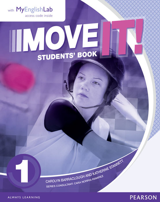 Move it! 1 Students' Book & Myenglishlab Pack move it 2 students book
