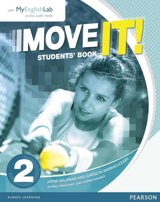 Move it! 2 Students' Book & Myenglishlab Pack move it 2 students book