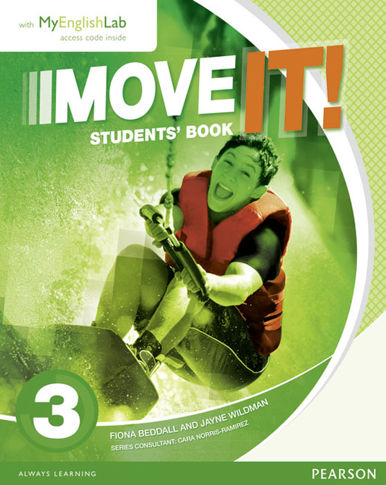 Move it! 3 Students' Book & MyEnglishLab Pack move it 2 students book