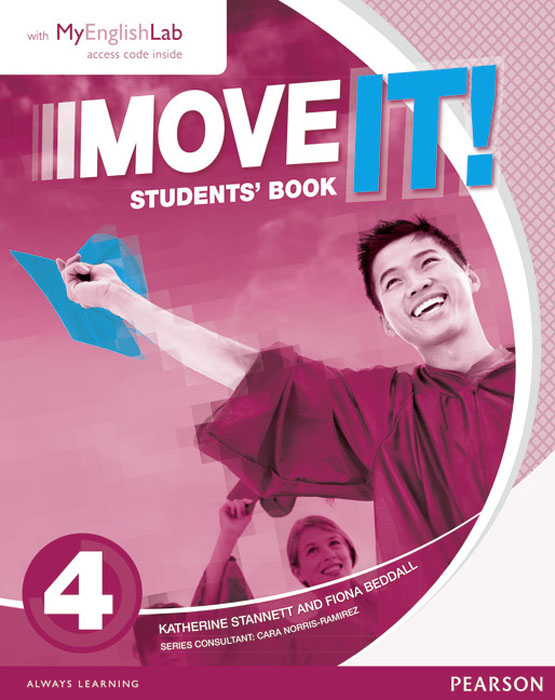 Move it! 4 Students' Book & MyEnglishLab Pack move it 2 students book