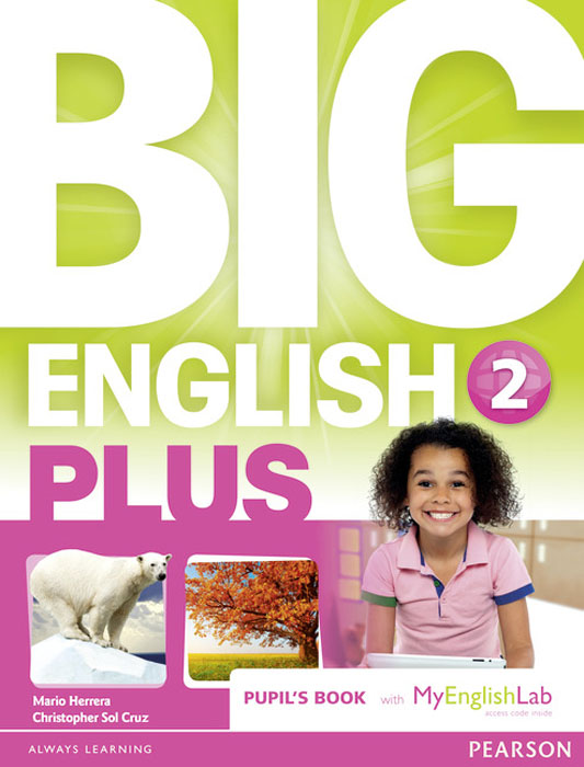 Big English Plus: Level 2: Pupil's Book with MyEnglishLab Access Code Pack цена и фото