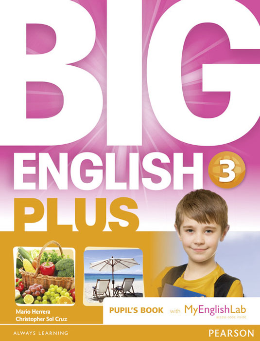 Big English Plus: Level 3: Pupil's Book with MyEnglishLab Access Code Pack цена и фото