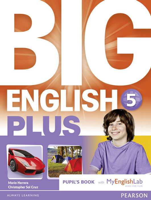 Big English Plus: Level 5: Pupil's Book with MyEnglishLab Access Code Pack цена и фото