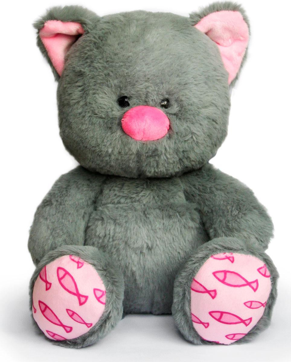 Мягкая игрушка Играмир Котенок. Мини-Мы серый, розовый чикко игрушка котенок музыкальный
