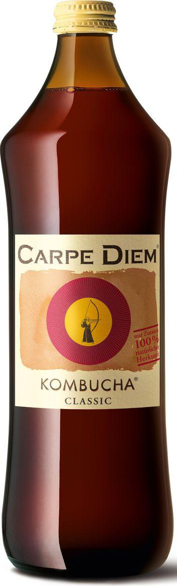 Сarpe Diem Kombucha напиток тонизирующий классик, 0,75 л