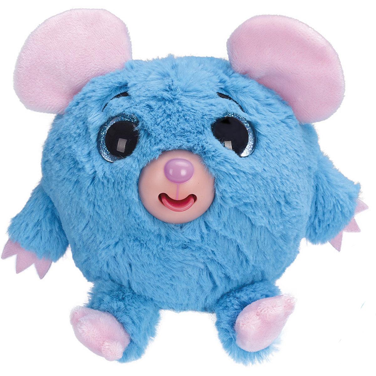 1TOY Мягкая озвученная игрушка Дразнюка-Zooка Мышка 13 см 1toyмягкая озвученная игрушка дразнюка zoo лисичка 13 см