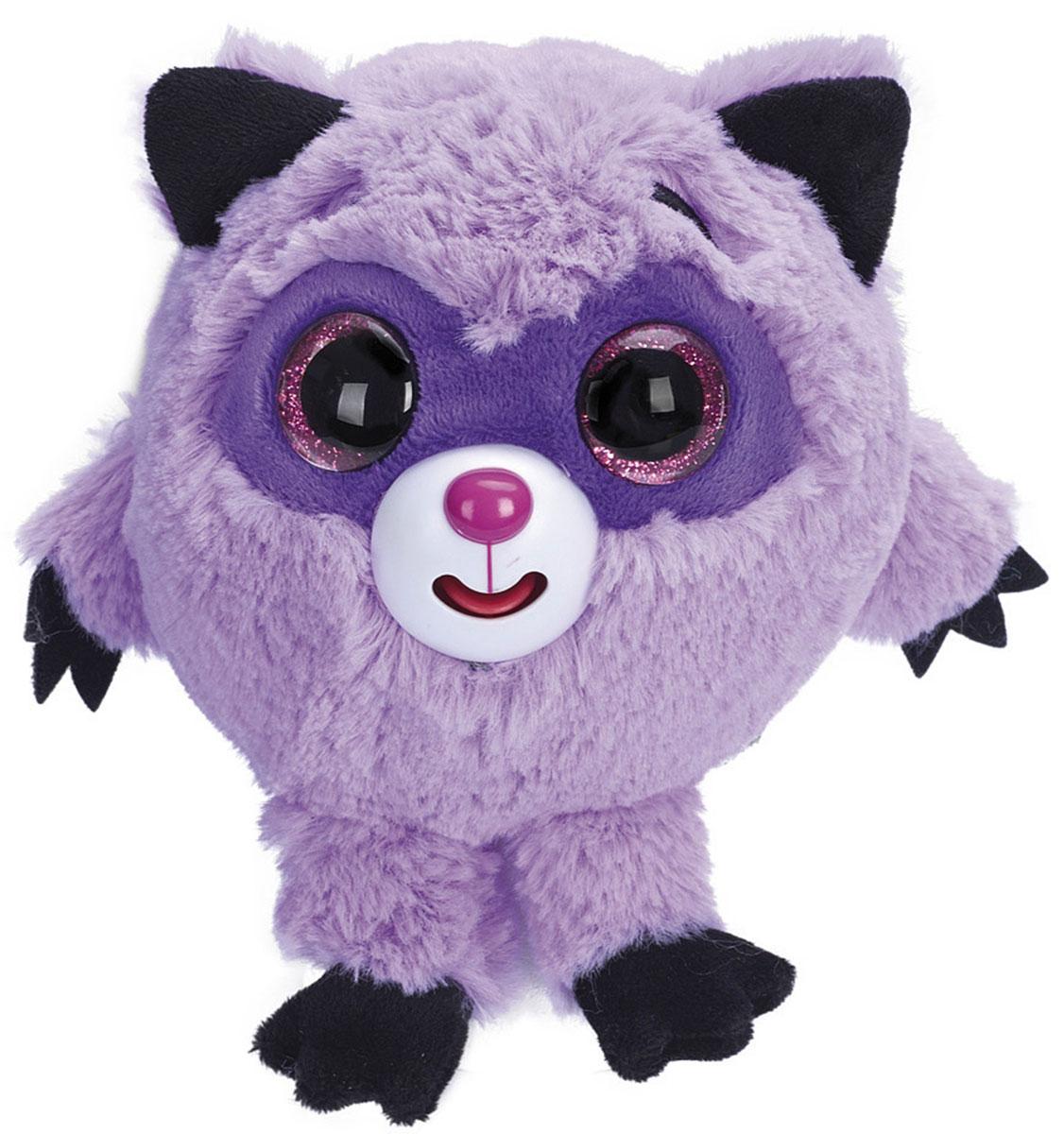 1TOY Мягкая озвученная игрушка Дразнюка-Zooка Енот 13 см 1toyмягкая озвученная игрушка дразнюка zoo лисичка 13 см