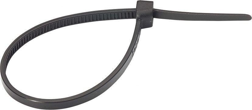 Хомут-стяжка Tech-Krep, нейлоновый, цвет: черный, 3Х100, 14 шт хомут era пластиковый хомут стяжка 48 х 350 мм 350 пх