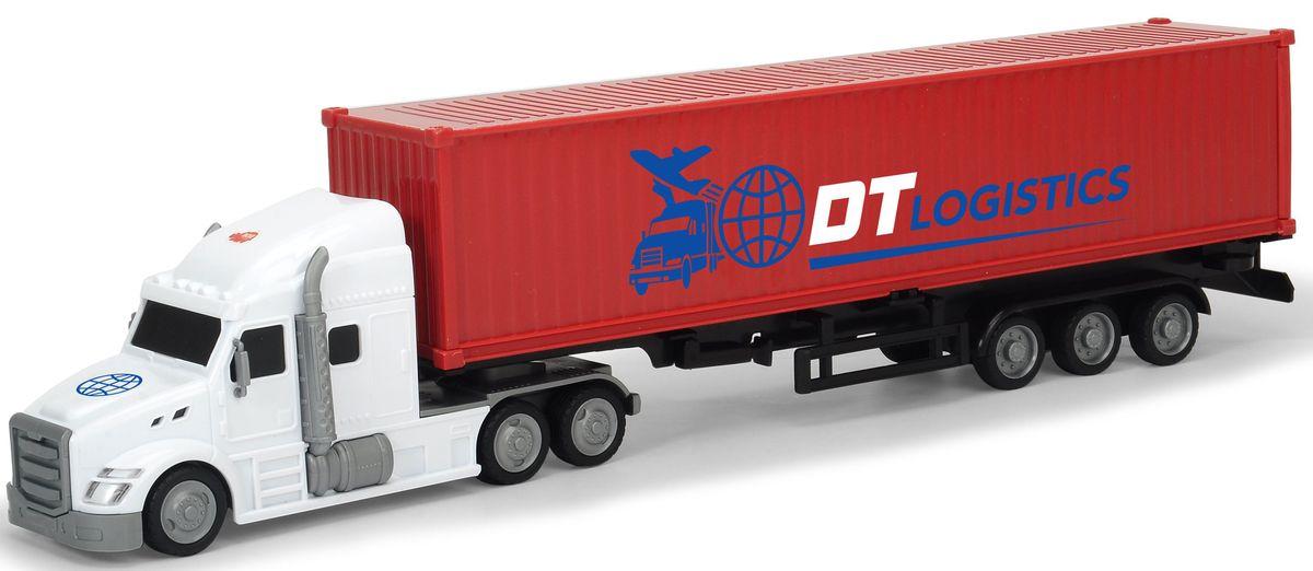 цены Dickie Toys Трейлер с прицепом