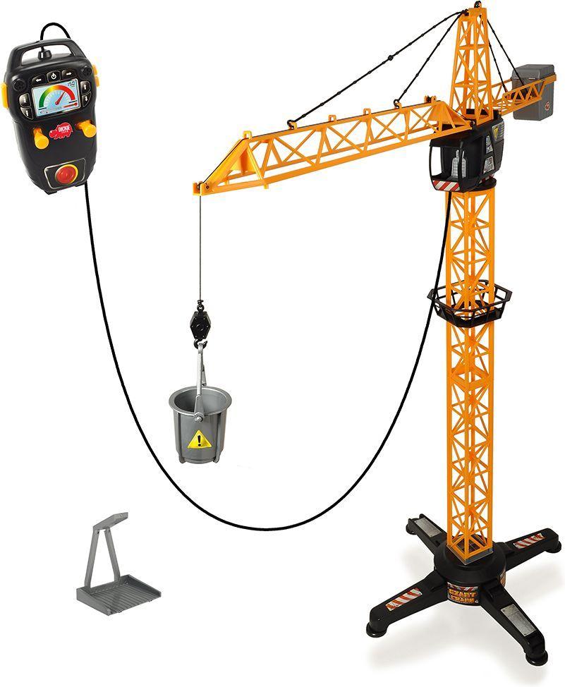 Dickie Toys Кран на дистанционном управлении цены онлайн