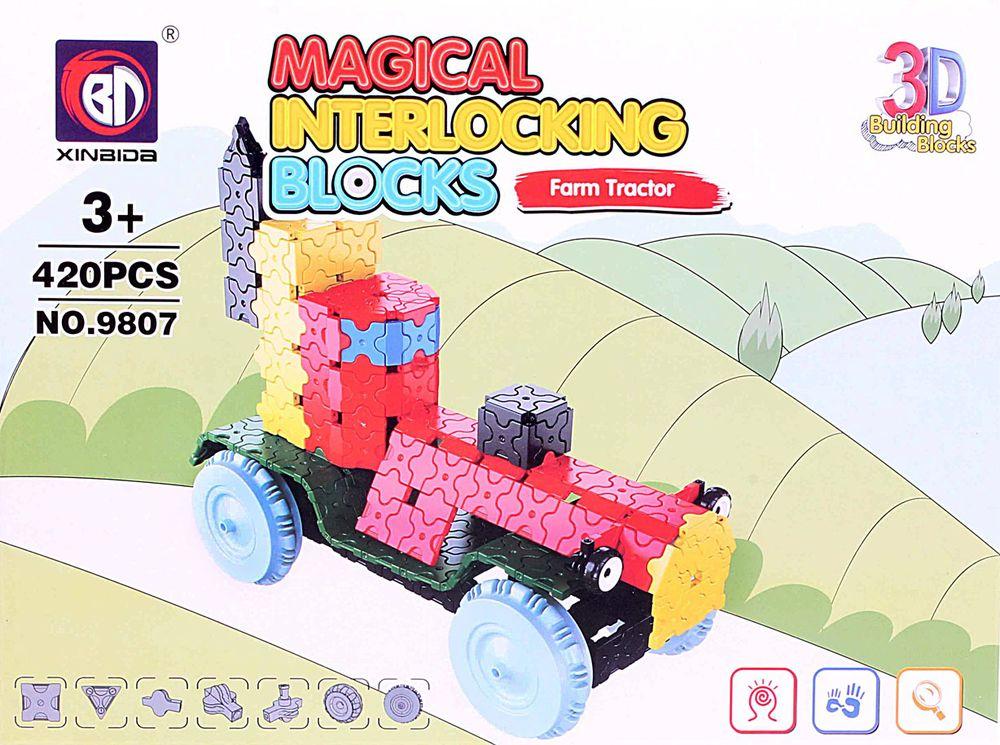 ToyToys 3D Пазл Фермерский трактор 3d пазл бомбардировщик b 17 инерционный 38 деталей