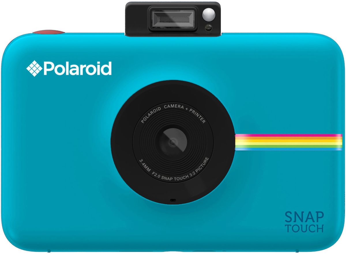 лучшая цена Polaroid Snap Touch, Blue моментальная фотокамера