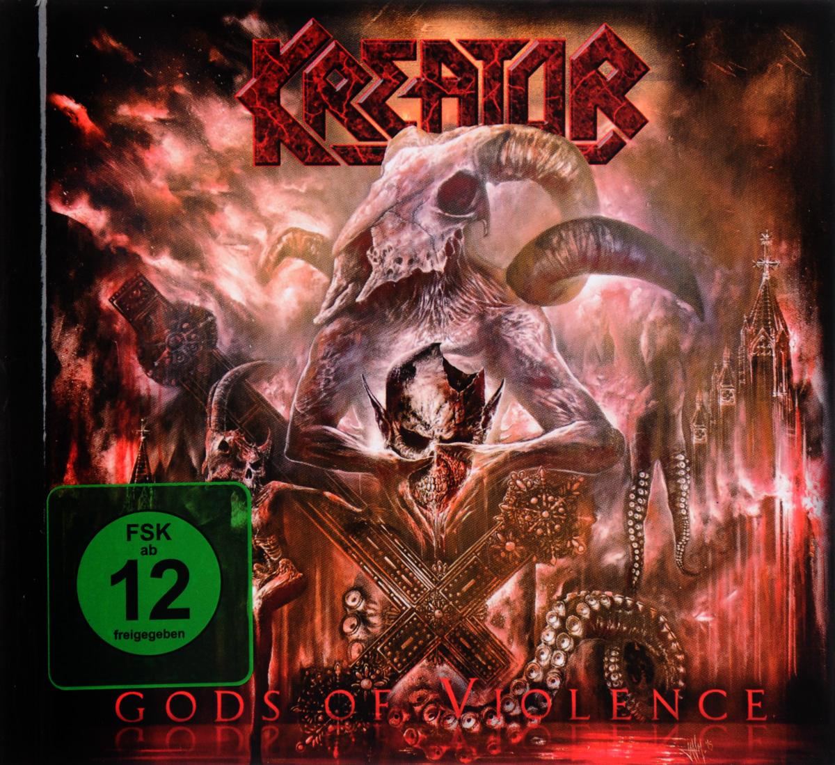 Kreator: Gods Of Violence (DVD + CD) cd therion beloved antichrist