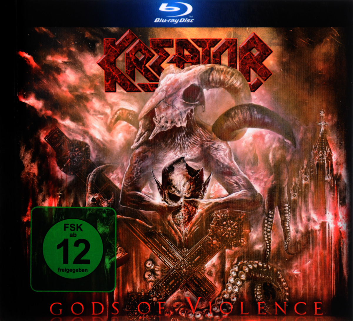 Kreator: Gods Of Violence (Blu-ray + CD) kai hansen thank you wacken live blu ray cd