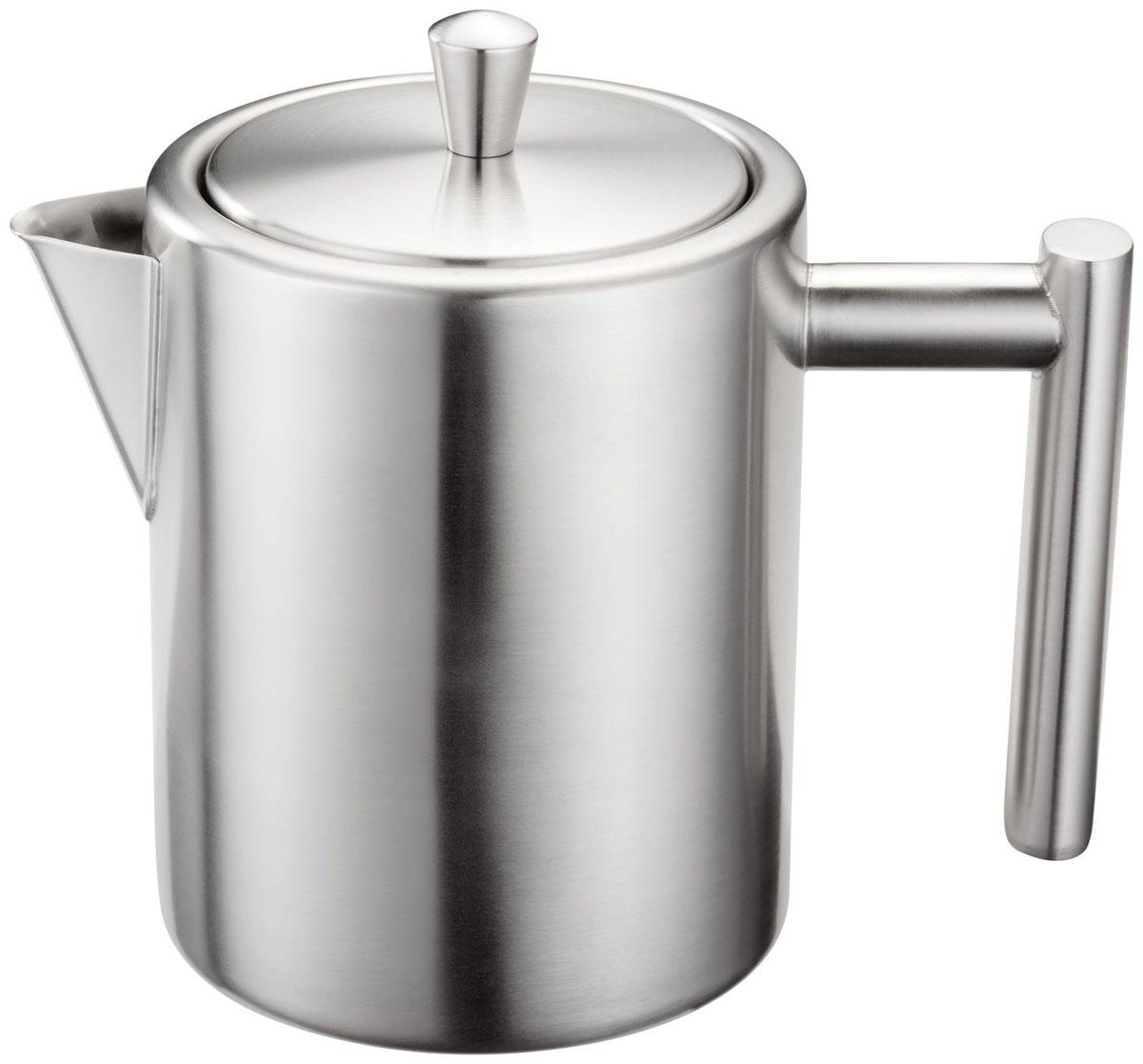 Чайник заварочный Silampos Oslo, цвет: матовая сталь, 600 мл. 41281318SM90