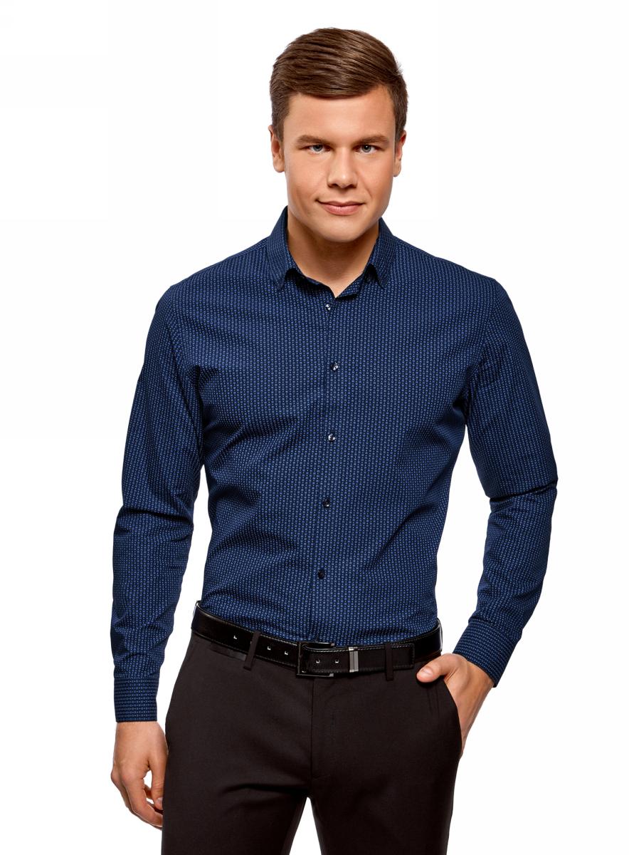Рубашка oodji Basic рубашка oodji рубашка