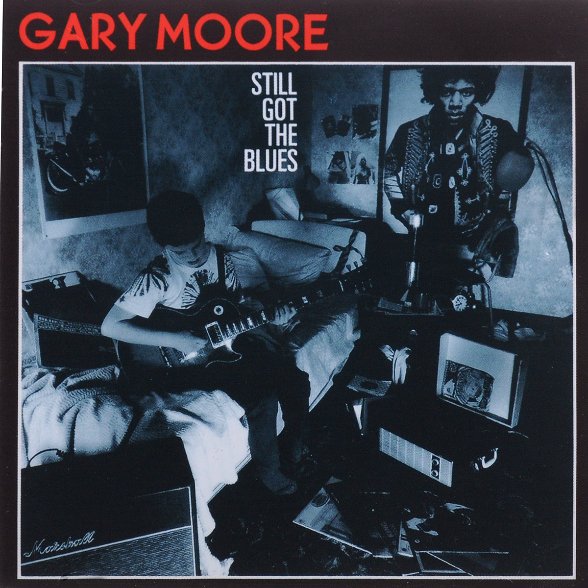 Гэри Мур Gary Moore. Still Got The Blues gary moore gary moore wild frontier