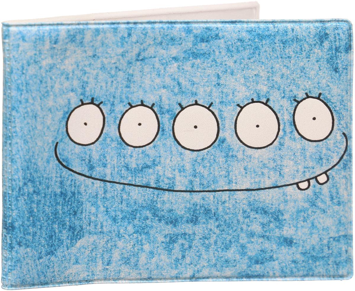 Обложка для студенческого билета Kawaii Factory Совесть, цвет: голубой. KW067-000070 обложка для зачетной книжки kawaii factory russian student kw067 000112 голубой