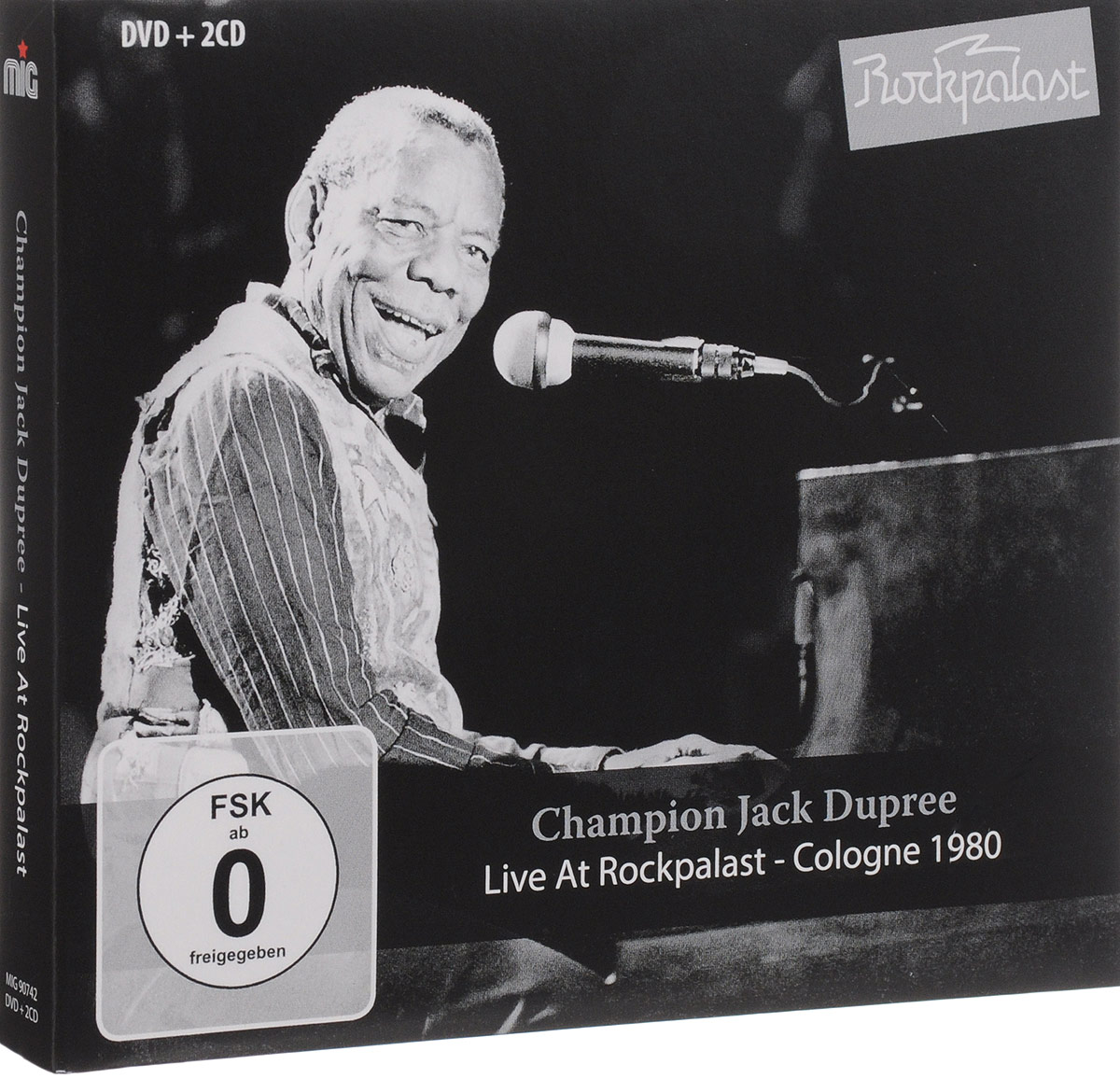 Champion Jack Dupree: Live At Rockpalast (DVD + 2 CD) mother s finest live at rockpalast dvd 2 cd