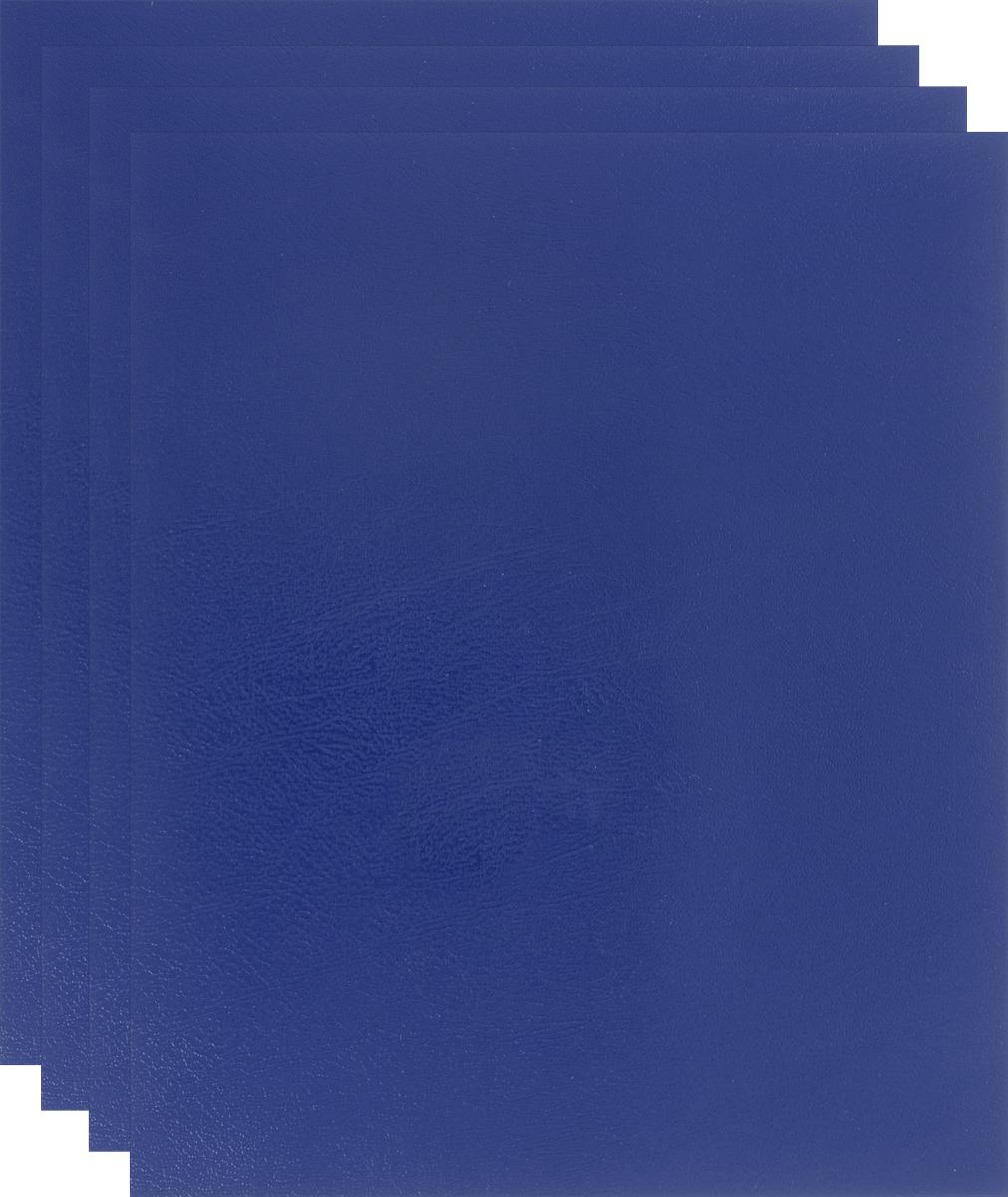 Action! Набор тетрадей Sponsor 48 листов в клетку цвет темно-синий 4 шт