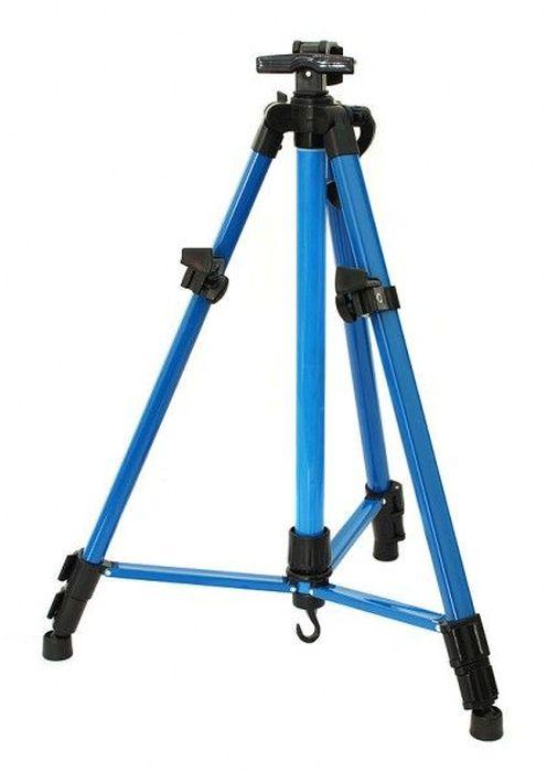 """Мольберт-тренога """"Белоснежка"""", телескопический, цвет: синий, высота 51-150 см"""