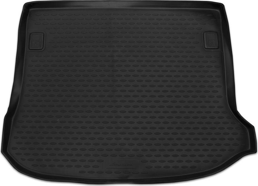 Коврик автомобильный Element, для автомобиля LADA Largus, 2012-> ун. 5 мест. (задний), 1 шт., цвет: черный, в багажник цена и фото