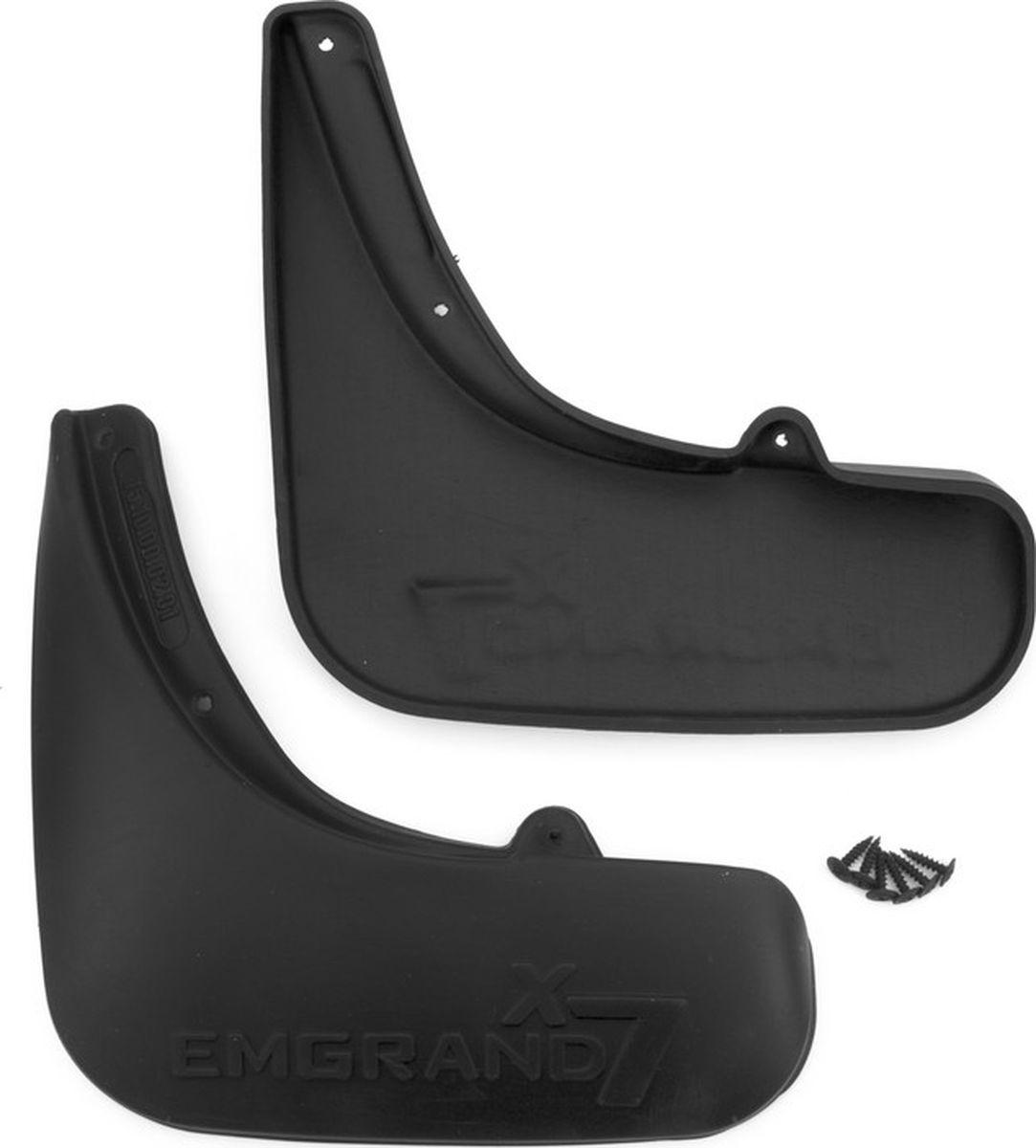 Фото - Комплект брызговиков задних Frosch для Geely Emgrand X7 внедорожник, 2013-, 2 шт комплект брызговиков передних frosch для geely emgrand ec 7 седан 2011 2 шт