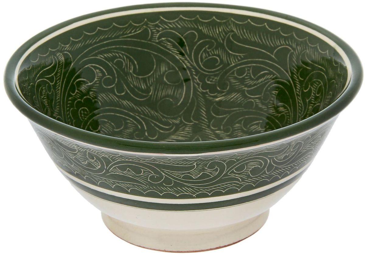 """Пиала """"Риштанская керамика"""", диаметр 18 см"""