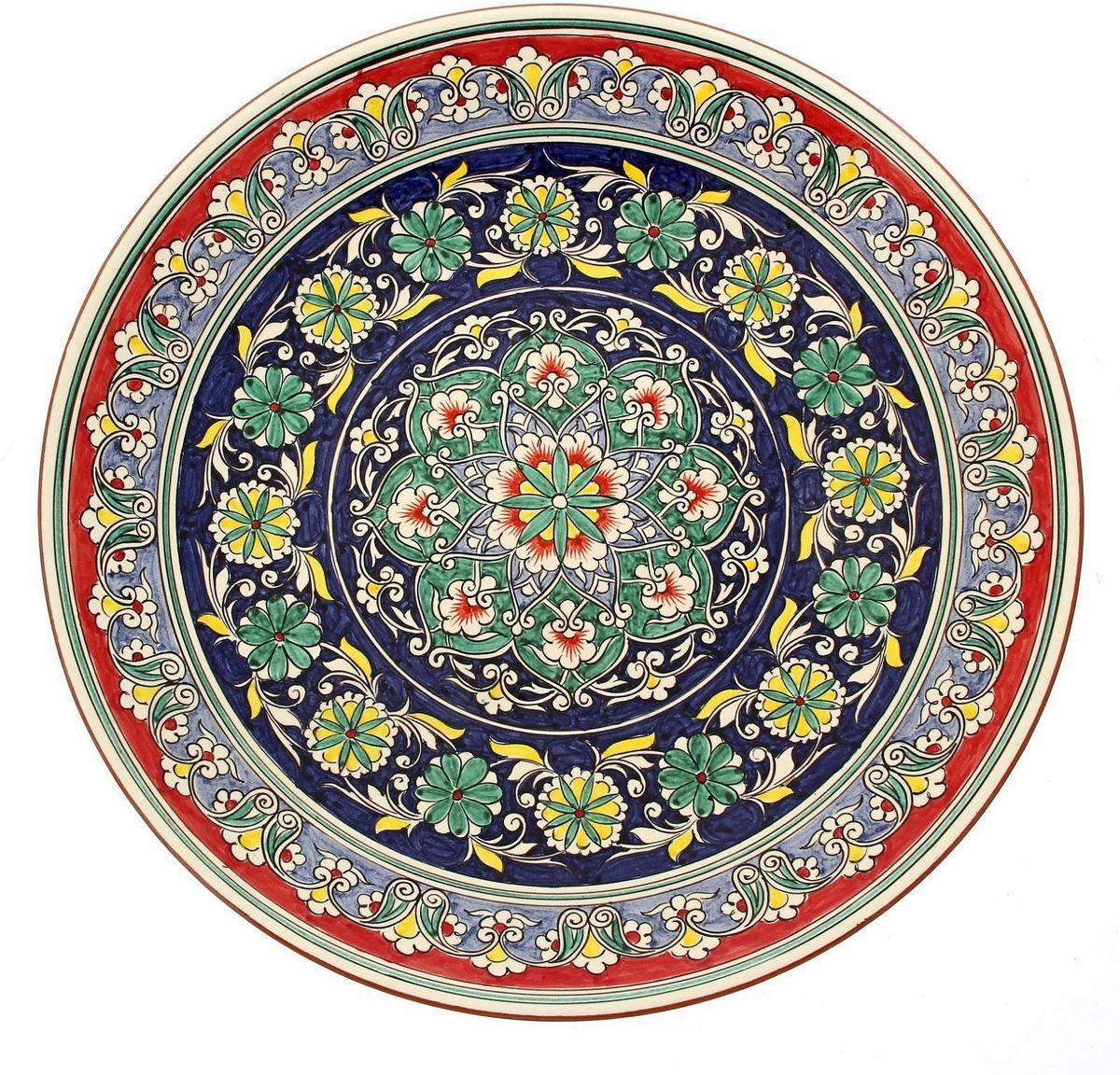 """Ляган """"Риштанская керамика"""", диаметр 41 см. 1923481"""