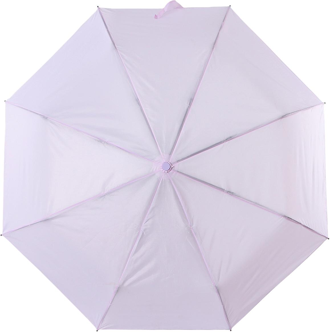 Зонт женский Torm, автомат, 3 сложения, цвет: светло-розовый. 3731-07 цена