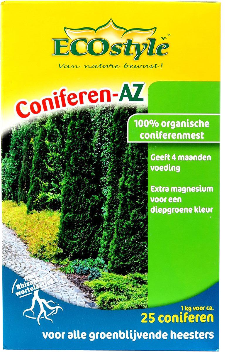 Удобрение натуральное органическое EcoStyle, для хвойных и вечнозелёных растений, 1 кг на 25 м2 ecostyle ecostyle shell для nokia x