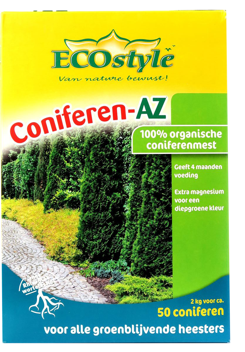 Удобрение натуральное органическое EcoStyle, для хвойных и вечнозелёных растений, 2 кг на 50 м2 ecostyle ecostyle shell для nokia x