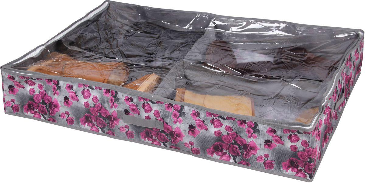 Короб для хранения обуви Handy HomeРоза, 4 секции, 94 х 60 х 15 см короб для хранения обуви handy homeроза 4 секции 94 х 60 х 15 см
