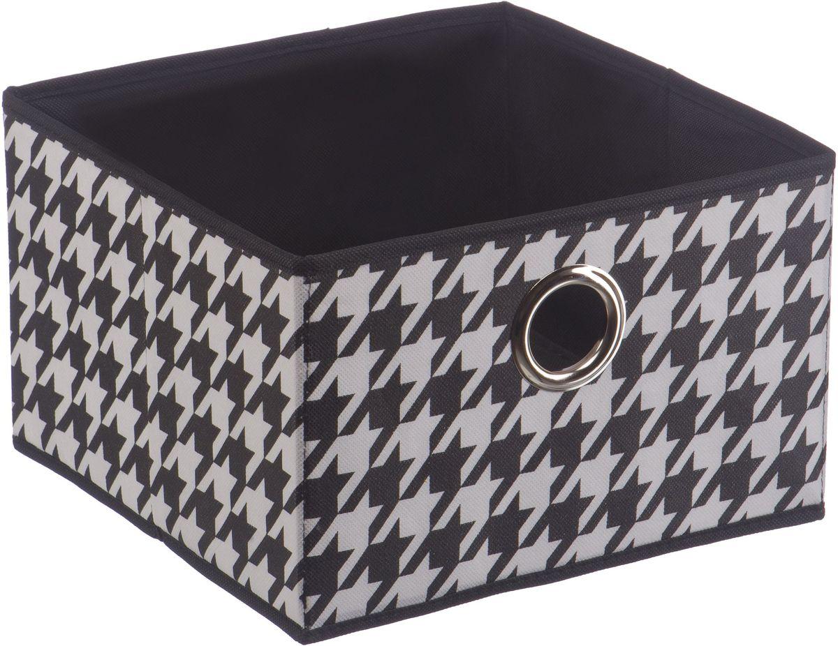 Короб для хранения Handy Home Пепита, складной, 28 х 28 х 18 см. UC-67 короб для хранения обуви handy homeроза 4 секции 94 х 60 х 15 см