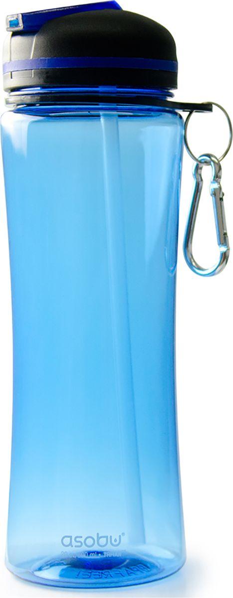 Бутылка Asobu Triumph sport bottle, цвет: голубой, 720 мл