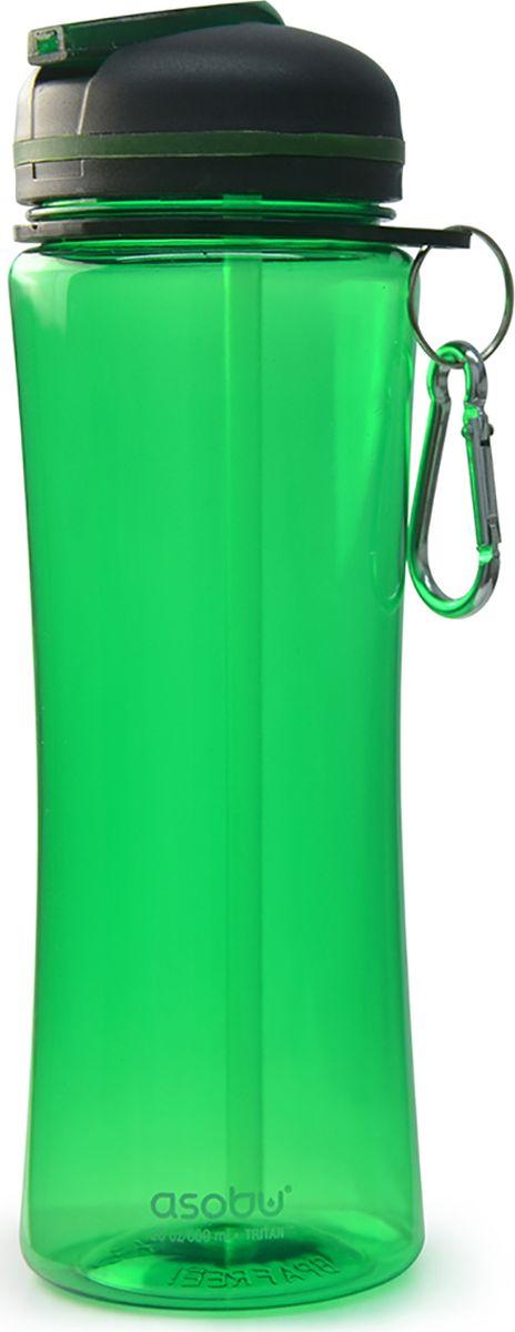 Бутылка Asobu Triumph sport bottle, цвет: зеленый, 720 мл