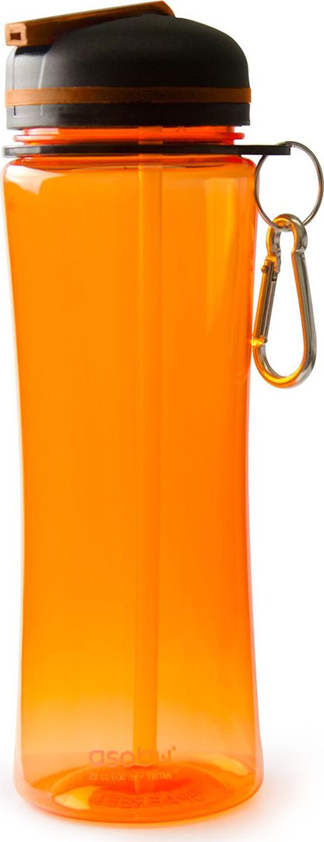Бутылка Asobu Triumph sport bottle, цвет: оранжевый, 720 мл