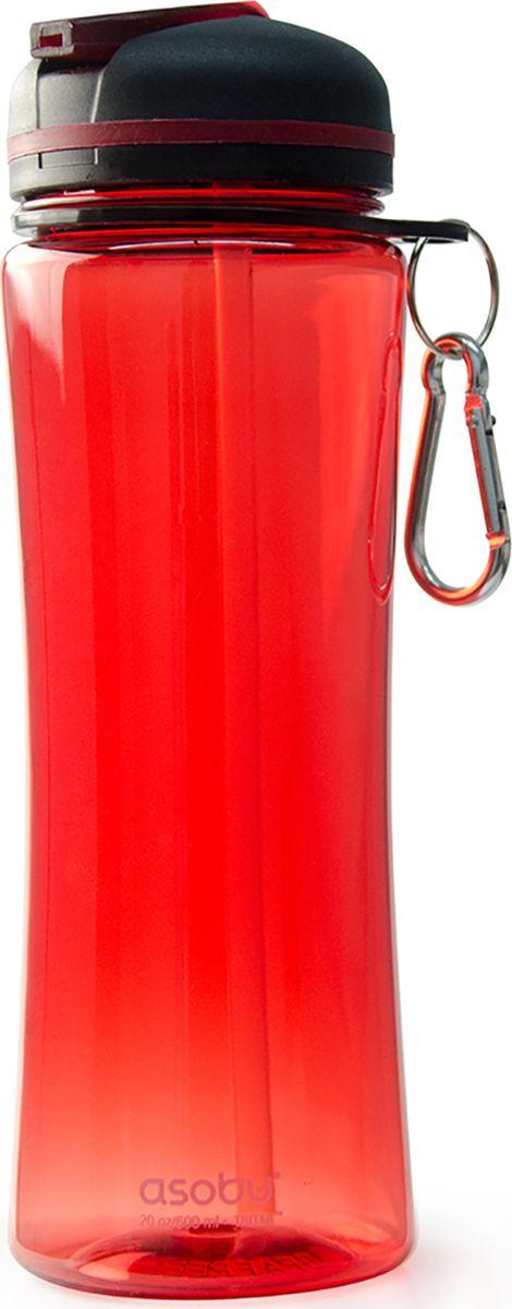 Бутылка Asobu Triumph sport bottle, цвет: красный, 720 мл