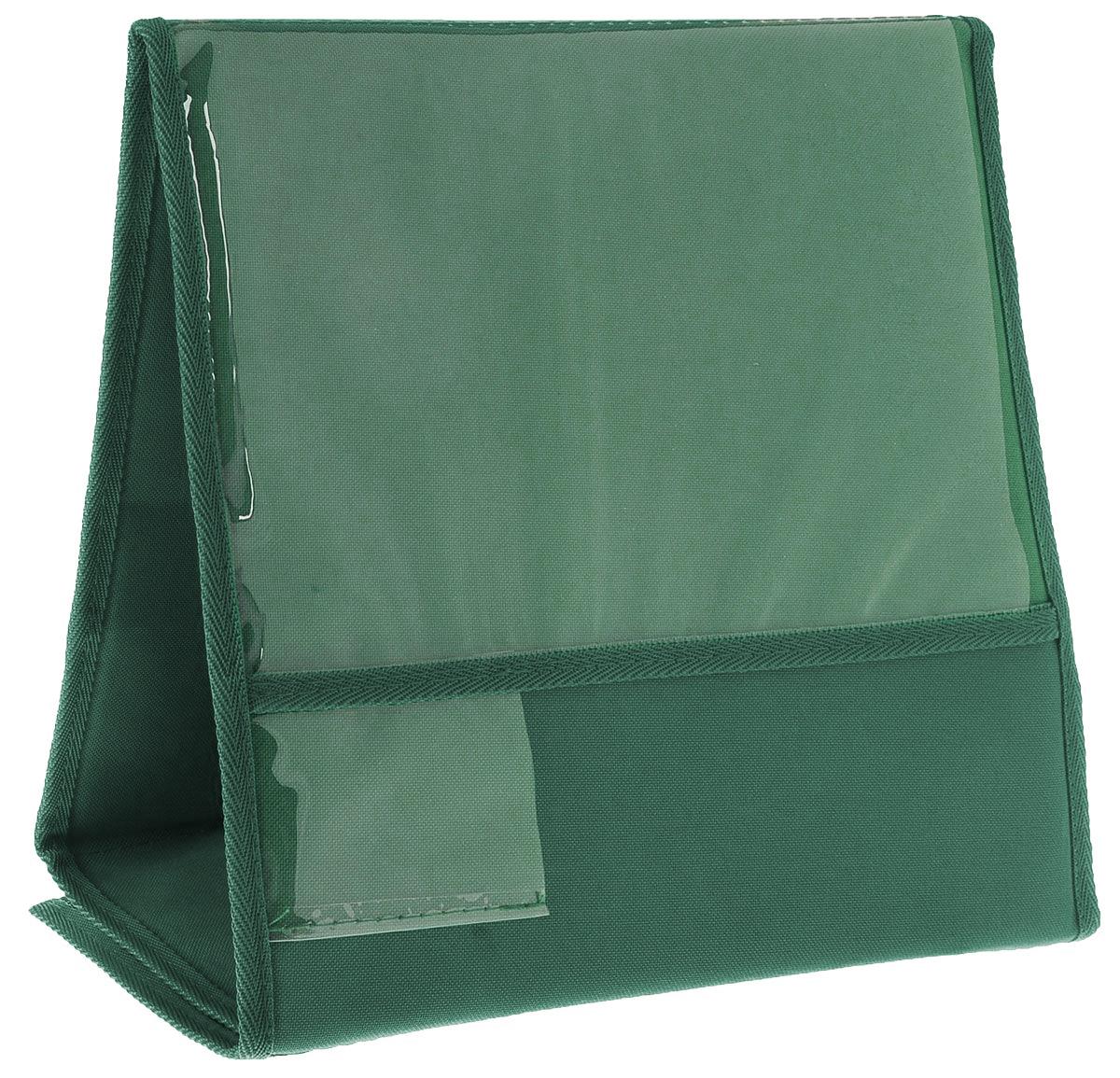 """Табличка для животных """"Заря-Плюс"""", выставочная, зеленый, 32 х 32 х 16 см"""