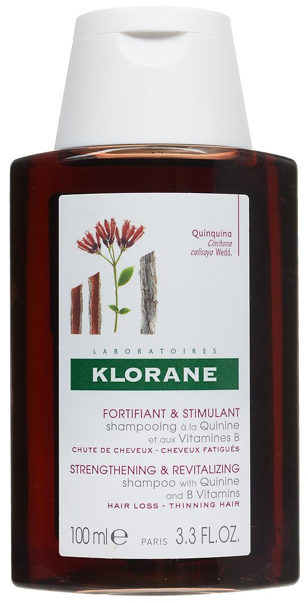 Klorane Шампунь Thinning Hair с экстрактом Хинина укрепляющий 100 мл клоран с хинином купить