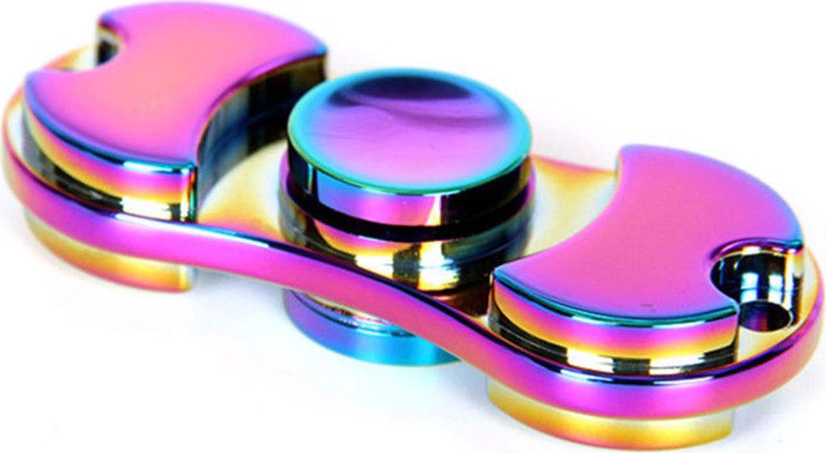 TipTop Сигл-спиннер цвет радужный спиннер пластиковый светящийся три лопасти с usb розовый