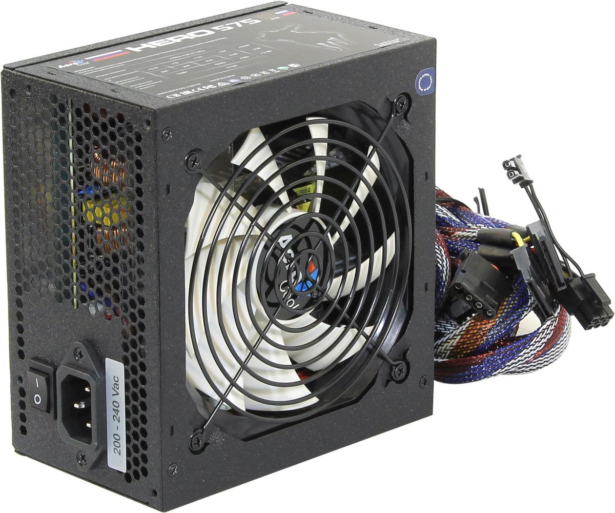 Блок питания компьютера Aerocool Hero 575