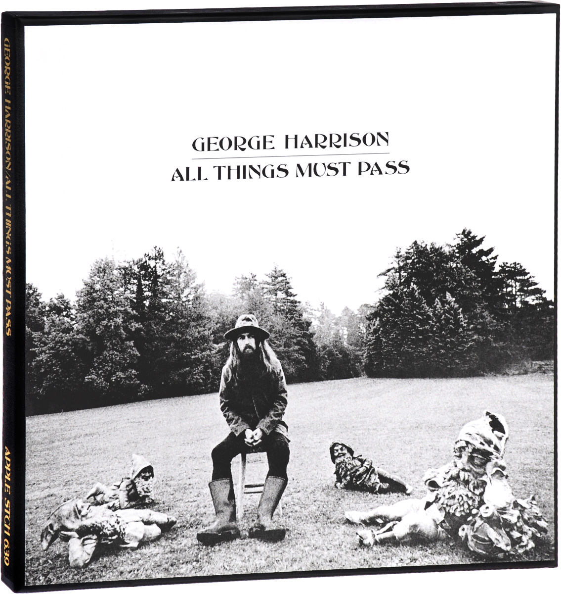 Джордж Харрисон George Harrison. All Things Must Pass (3 LP) lp