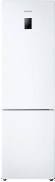 Холодильник Samsung RB 37 J 5200 WW, двухкамерный, белыйRB37J5200WW/WTВнутренний объем холодильника Samsung RB37J5200WW превосходит объем обычных холодильников с нижней морозильной камерой при тех же внешних размерах. Увеличение внутреннего полезного объема обеспечивается за счет использования технологии Space Max Technology, предусматривающей применение более тонких стенок с теплоизоляцией, не снижающей энергоэффективности холодильника.Охлаждение со всех сторонТехнология All-around Cooling позволяет равномерно охлаждать каждый уголок рабочей камеры. Охлажденный воздух циркулирует через множество вентиляционных отверстий, имеющих выходы на каждую полку, благодаря чему в холодильнике поддерживается постоянная температура и продукты всегда остаются свежими.Идеальные условия для хранения мяса и рыбыЗона свежести (Fresh Zone) представляет собой выдвижной ящик, в котором создаются идеальные условия для хранения мяса и рыбы, поскольку в нем поддерживается оптимальная температура и эти продукты долго сохраняются в наилучшем виде.Храните так, как вам это удобно4 дверных съемных контейнера можно легко приспособить для хранения емкостей самых разных размеров. Вы можете отрегулировать размеры дверных карманов для размещения в них упаковок, бутылей и других видов продуктов.Полностью выдвижной ящик в морозильной камереБольшое отверстие позволяет легко разместить продукты в ящике и оптимизировать пространство рабочей камеры холодильника.Верхнее светодиодное LED освещениеВерхнее LED освещение в моделях серии RB5000 стало ярче, чем в других моделях, теперь инт... Крупногабаритный товар.