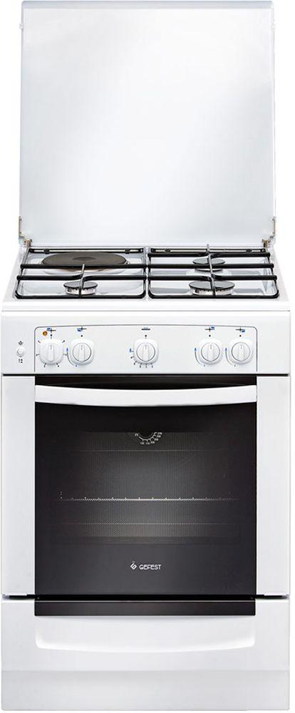 Gefest ПГЭ 6110-01 0005, White плита комбинированная