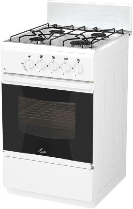 Плита Flama RG 24011 W, White, газовая